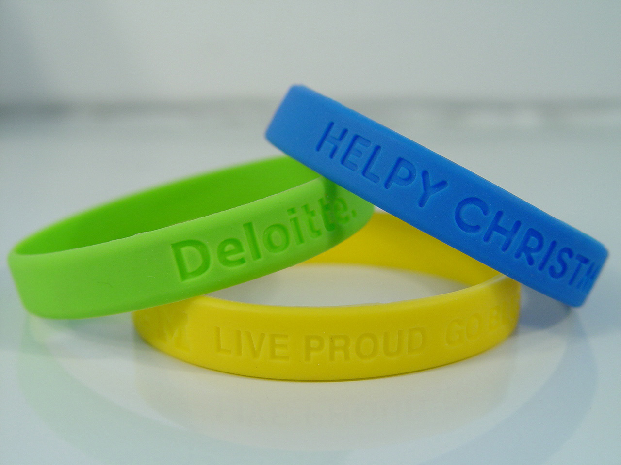 Silicone Braclets 110